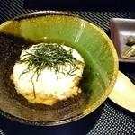 京都 鉄板焼 おはら - 〆のお茶漬け すごく優しいお味