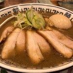 肉中華そばムタヒロ - こくニボ特製中華そば