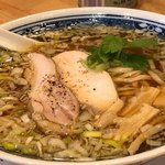 肉中華そばムタヒロ - 奥能登の塩鶏そば