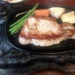 ステーキいづつや - ポークソテー1680円