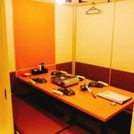 完全個室と創作和食 椿屋 - 店内
