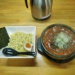 石焼つけ麺(激辛200)
