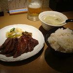 牛たん若 - 110509 牛たん定食