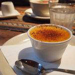 Tef Cafe - クレームブリュレ。バニラビーンズたっぷり
