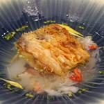 ete - 甘鯛とズワイ蟹のスープ