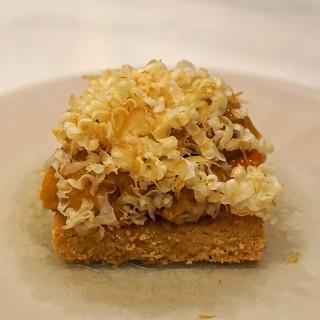 ete - 料理写真:アミューズ 塩味の雲丹のタルト