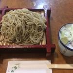 長竿亭 - もり大盛り(700円)