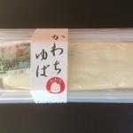 長竿亭 - さしみゆば(600円)