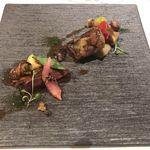 78051487 - LE BŒUF DE《KURI》+1,800円]  フランス ランド産 小鳩のロースト 秋の野菜と共に