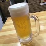 でんでん - でんでん 生ビール400円