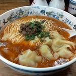 大明担担麺 - 料理写真:ワンタン入り担担麺