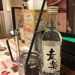 ジョナサン - 本格焼酎 麦楽180ml499円(税別)