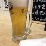 78054501 - 「生ビール」スーパードライ。350円也。