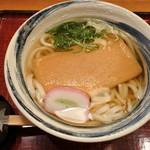 杵屋 - きつねうどん(630円)