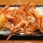 杵屋 - 川海老の唐揚げ(421円)
