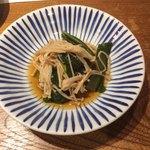 四十八漁場 - なめ茸と小松菜の煮浸し