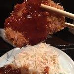 串かつ 関 - サクッとじゅわぁ〜っと、美味しいかつでした