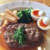 れんが - 料理写真:和風ハンバーグ