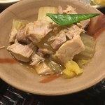 北新地 銀杏 - ツナと白菜の煮物