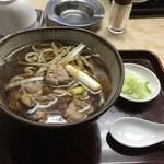 大村庵 - 鴨南そば700円