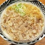 増田うどん - 増田肉うどん 800円