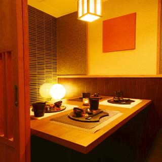 三田・田町駅からすぐ!扉付き完全個室を完備!