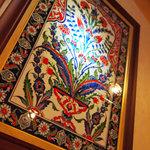 アンカラ - 至る所にトルコ的装飾