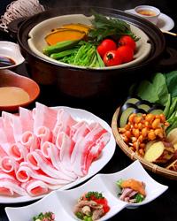 口福家 HANARE - あぐー豚と有機野菜のヘルシー蒸し鍋コース 2780円