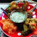 チャンドラ・スーリヤ - 郷土料理干し米チウラ