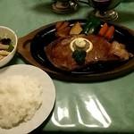 レストランやまびこ - 常陸牛サーロインステーキ(Bセット)