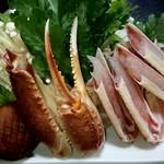 いと - 料理写真:かにすきの具材