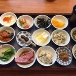 築地本願寺カフェ Tsumugi - 朝粥定食