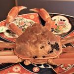 日本料理 きた川 - カニ参上!