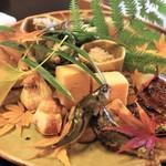 日本料理 きた川 - 八寸 2人前
