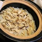 日本料理 きた川 - 食事 松茸ご飯