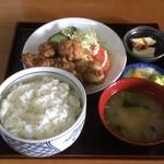 定食屋菜 - 塩ザンギ定食 650円