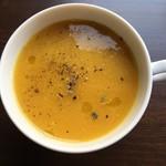 サルトリイバラ喫茶室 - 雪化粧南瓜のスープ