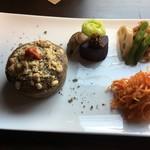サルトリイバラ喫茶室 - 薬膳マフィンセット