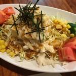 日向 バンカラ - 長芋と豆腐のサラダ