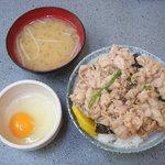 名物 スタ丼 サッポロラーメン - ミニスタ丼¥450