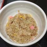 四谷 政吉 - 蕎麦50%の炒飯