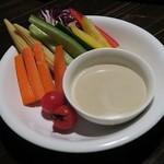 78070488 - 「朝摘み野菜の和風バーニャカウダ」