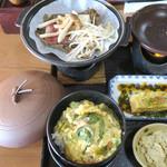 いろり - 飛騨牛の味噌陶板焼き