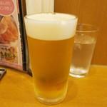 とんきっき - ・「生ビール 中 ハートランド(\470)」