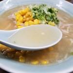 78072061 - しおラーメンのスープ