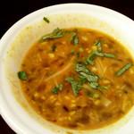 78074064 - 「豆と野菜の日替わりカレー」