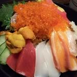 78076497 - 極み海鮮丼1800円(税込み)