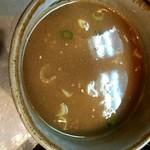 麺匠 呉屋 - スープ割っちゃいますよ!