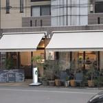 WAGYU AND RACLETTE NIGIRO -  お店は城東橋近く、パナソニック福岡の裏の李餃子さんの横にあります。