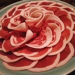 十割そば処 山獲 - 猪肉
